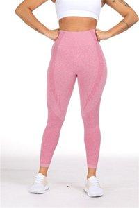 Petit Petit Jacquard transparente Pantalons Ninth fitness Pantalons Body Shaping Pantalons leggings femmes Vêtements pour femmes
