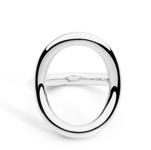 Top quality New Arrival Cold Wedding Rings for Women Irregular Korean Simple Style Round Copper Ring jewelry Wholesale Christmas Gift