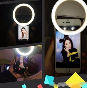 Manufacturer charging LED flash beauty fill selfie lamp outdoor selfie ring light rechargeable for all mobile phone LLFA