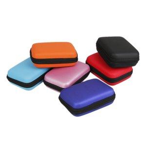 Bolso de auricular de la bolsa de 2.5 pulgadas para el disco duro de disco duro HDD Disco de disco duro USB externo Carrera Mini Cable de cable USB