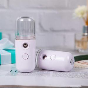 Sprühgerät tragbare USB-Feuchtigkeits-Spray Mist Spray, USB aufladbare Mini-Schönheits-Instrument freies schnelles Meer Versand OWE2240