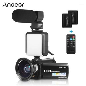 Andoer HDV-201LM 1080P FHD Digital Video Camera Camcorder DV supports functions of face detection smile capture beauty face1