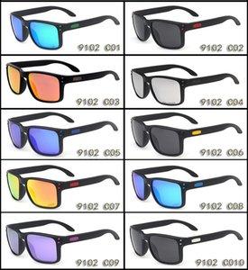 Diseñador gafas de sol para hombre marca O gafas de sol polarizadas OO9102 Classic UV Protection Deporte al aire libre Colorido Gafas de sol con estuche