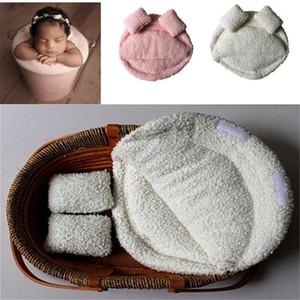 Accesorios recién nacidos para la fotografía almohada Recién nacido Posando Baby Photography Props Photo Studio Cuna Props para fotos Sesión Posando Sofá LJ201014