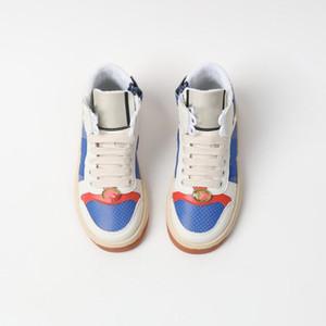 A1 2021 Couro Sapatos Crianças Moda Meninas Meninos Sapatos Esportivos Respirável Crianças Sapatilhas Soluas Solas Não-Slip Criança Baby Tênis