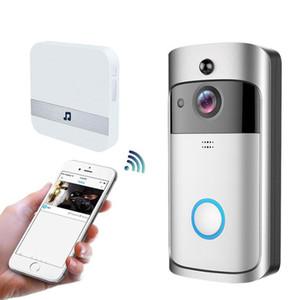 Smart Soorbell Bell Belling Remote Surveillance Téléphone Appel de téléphone Interphone Système Appartement Porte des yeux Wifi Vidéo Sea Gwc5394