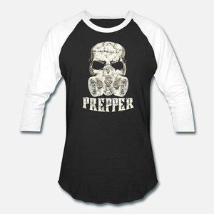 Рубашка Vintage Skull Prepper маски для лица рукава Коротких Летней рубашки Дизайн T Стиль S-XXXL Мужчин подарки Нового Survivalism Мужского Unique газа рубашка Vi Qleo