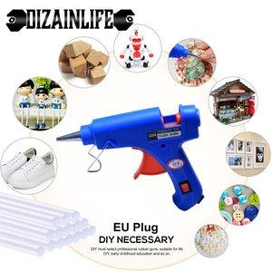 7mm Glue ile 20W AB Tutkal Tabancası Endüstriyel Mini Guns Termo Elektrik Isı Sıcaklık Onarım Aracı DIY El Aletleri Sticks