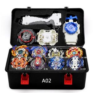 Takara Tomy Combination Bey Bay Bay Burst Set Toys Arena Metal Fusion 4D con Lanzar Blade Blade Toys Y200703