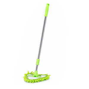 Portable Mop Triangle Floor Wipe Kitchen Scalable Mini Convenient Cleaning Tool Glass Woman Man Mops Supplies 5 5yt K3