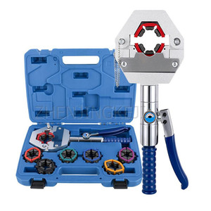 8T Manual Small Hydraulic Clamp Cutting Tools Car Pipeline Portable Pipe Pressing Machine Connector