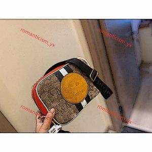 Coach camera bag 2020 todo-fósforo bolsa de la cámara del diseño lona impermeable bolsa de hombro bolsa de tela diagonal tamaño de puesta 21 * 15cm