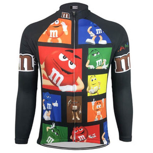 2020 Men M &M &#039 ;S Cycling Jerseys Bike Wear Long Sleeve Cycling Clothing Mtb Ropa Ciclismo Maillot Outdoor Bicycle Clothes Cool Cla