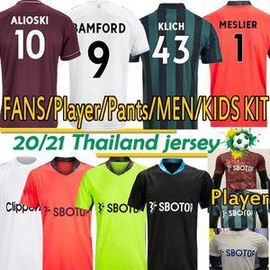 Leeds Fussball Jersey United 20 21 T Roberts Harrison Hernandez Costa Bamford Alioski Clarke 2020 2021 Football Hemd Uniformen Männer Kids Kit