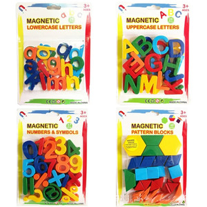 26pcs Magnetic Learning Alphabet Letters Plastic Refrigerator Stickers Toddlers Kids Learning Spelling Counting Educational Toys wholesale