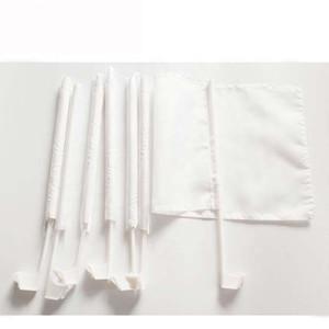 12x18inches White Blank Autofahne Sublimation Flagge 100D Polyester Auto-Qualitäts-Fenster mit 43cm Plastikpfosten freiem Verschiffen HWF2235 Druck