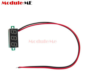 High Quality 0.36 Inch 2-wire Voltmeter Dc 4.7~32v Mini Green Led Panel Voltage Meter 3-digital Adjus qylxBE mywjqq