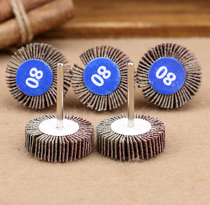 Tools 5pcs Dremel Accessories Sandpaper Sanding Flap Polishing Wheels Sanding Disc Set Shutter Polishing Wheel For R bbyTrm warmslove