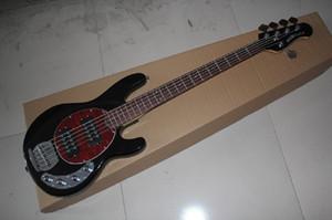 Ücretsiz Kargo Satış Ernie Ball Musicman Müzik Adam Sting Ray 5 Strings 9 V Aktif Pikap Siyah Elektrik Bas Gitar
