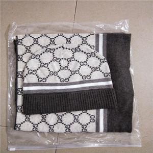 chaud 2020 Foulards de laine Ensembles de haute qualité des hommes et des femmes Designer Hat écharpe objet chaud mode luxe haut de gamme européenne Hat Scarf