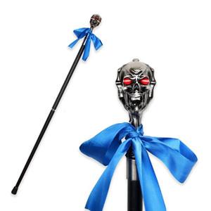 Black Butler Ciel Phantomhive Skull Head Walking Stick Man Luxury Decorative Walking Cane Metal Canes Gothic Walking Stick 93cm