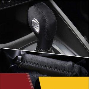 Manicotto della manica del maglie del cambio del cambio del cambio della cuoio dell'ingranaggio dell'ingranaggio originale per la manica di avvio della Ford Escort Focus Escape Kuga Fiesta Copertura del cameriere dell'automobile