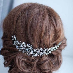 Bride Crystal Tiara Wedding Bride Hair Hoop Hairband Jewelry Europe and The United States Hot Sales.