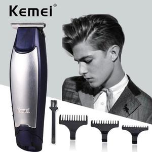 Nouveau Hot Kemei KM-5021 3 en 1 Professionnel Rechargeable Cheveux Tuymers Clipper Coup de coiffure Coiffeuse Coiffeuse Coiffeur Machine de coiffeur avec paquet de détail