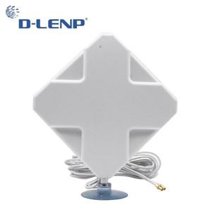 4g Mimo Antennen mit ts9 35dbi Verstärkung 4g Antenne 2 -Ts9 Steckverbinder für 4g Modem Router Antenne mit 2m Kabel Signalverstärker T200608