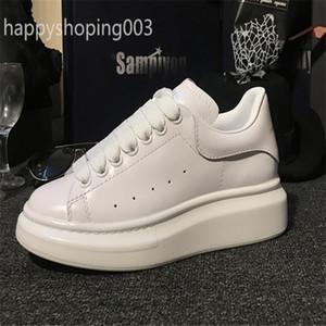 حجم 35-45 suedue الجلود منصة أعلى إيطاليا الأزياء والأحذية الارتفاع النساء الرجال أحذية رياضية عارضة الأحذية الصلبة الألوان الرجال النسائية أحذية