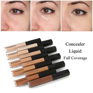 PHOERA Liquid Concealer Stick Scars Acne Cover Smooth Full Coverage Foundation Makeup Face Eye Dark Circles Corrector