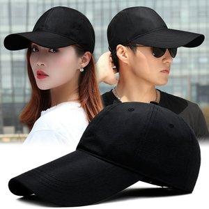 9cm 11 cm long pointed fishing Sun Hat Women's outdoor polyester sports cap men's large baseball cap 55-59cm 59-62cm