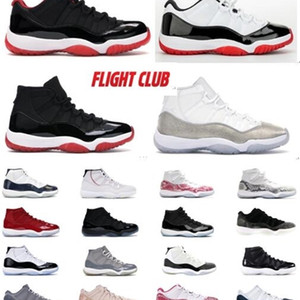 11s Concord Bred Mens Basketball Chaussures Jumpman Femmes Space Confiture 45 Gamma Blue Barons Hommes Sports Designer Sneakers Entraîneurs avec boîte