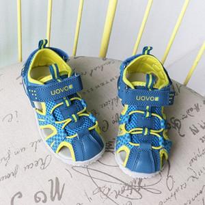 Çocuklar Boy Moda Sandalet Yumuşak UOVO Çocuk Boys Sandalet Yaz Boys Plaj Sigara Spor Kız G2xQ # Kayma Ayakkabı Ayakkabı