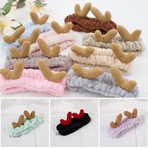 Hot Sale Women Headband Wide Head Wraps Elastic Deer Hair Band Shower Spa Hairlace Wash Yoga Sports Adjustable AIC88