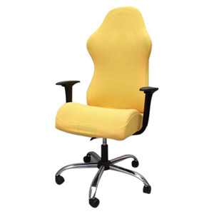 Elastic Gaming Competition Chair Covers Household Office Internet Cafe Rotating Armrest Stretch Chair Cases