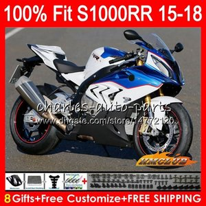 OEM Factory Blue Injection Stampo per Top S 1000 RR S1000 RR 2015 2016 17 18 Body 6HC.139 S1000-RR S 1000RR S1000RR 15 16 16 2017 2018 Fairings