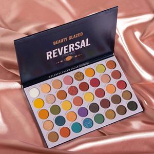 Beauty Glazed 40 18 Colors Shimmer Pearlescent Matte Eyeshadow Palette Waterproof Glitter Eye Shadow Make Up Cosmetics TSLM1
