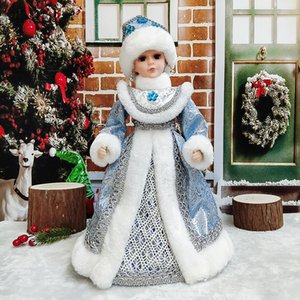 Santa Claus Dolls Holiday Plush Characters Christmas Children Toys Birthday Party Gifts Table Decoration Christmas Decoration
