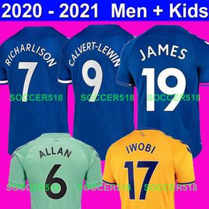 CALVERT-LEWIN JAMES 2020 قمصان 2021 RICHARLISON سيجوردسون KEANE الكوت COLEMAN كرة القدم BERNARD كرة القدم بالقميص بيكفورد دينيو