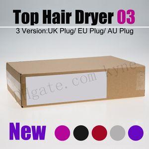 أعلى البائع نسخة جديدة مجفف الشعر لا مروحة مع نوعية جيدة أدوات صالون المهنية ضربة مجفف الشعر بكرة الشعر
