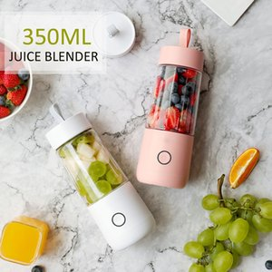 WarmToo 380ml Juicer portátil eléctrico USB recargable batidora Máquina mezcladora Mini Juice Cup Maker Fast Blenders W1231