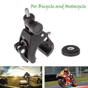 Alta Qualidade guidão de bicicleta câmera DV DSLR bicicleta Screw Clip Para Camera DV bicicleta suporte da braçadeira do suporte do tripé Mounts
