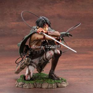 18CM Anime ATTACK ON TITAN Figure ARTFX J Levi Fortitude Ver. Action Figure Rivaille Ackerman Heichov Sergeant Major Figurine