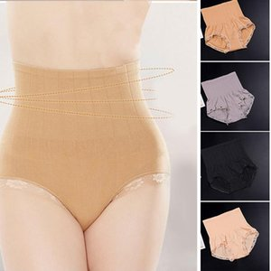 Hot Sale Hip-Lifting And Abdomen Seamless High-Waist Panties Belly-Lifting Slimming Ladies Lace Shaping Pants AIC88