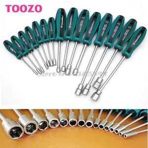 3 / 3,5 / 4 / 4,5 / 5 / 5,5 / 6/7/8/9/10/1/12/13 / 14mm Metallsockel Treiber Sechskantmutter Key Schraubwerkzeug Schraubendreher Nutdriver Handwerkzeug