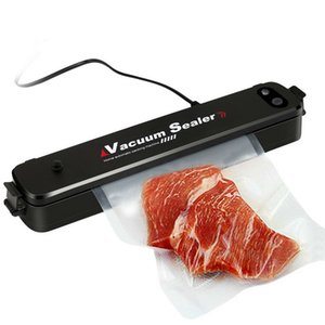 Food Vacuum Sealer Упаковочная машина 110V 220V фильм Sealer Вакуум упаковщик Saver хранения Рулоны 15Pcs Сумки Best Vacuum Food Sealer