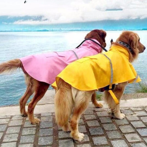 S-4XL großen Hundewasserdichtes Regen-Mantel-Haustier-Kleidung-Haustier-Regenmantel Jacke Bekleidung für Große Hunde-Bekleidung 30 Bekleidung