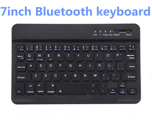 DHL 10pcs Teclado Bluetooth ultra fino 7 polegadas tablet sem fio usa o mini tablet Bluetooth teclado