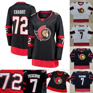Womens Thomas Chabot Jersey Ottawa Senators Brady Tkachuk Matt Murray Craig Anderson Chris Tierney Mark Anthony Borowieck Duclair Maglie